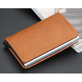 Unisex Metal Anti RFID Wallet Credit ID Card Holder Men Women Business Cardholder Cash Card Pocket Case Passes Credit
