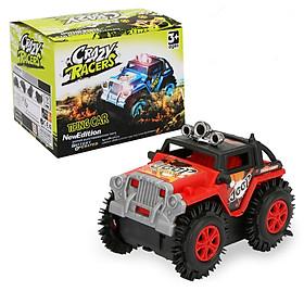 Đồ chơi mô hình xe Jeep KAVY chạy pin nhựa nguyên sinh an toàn, chạy rất nhanh và khỏe
