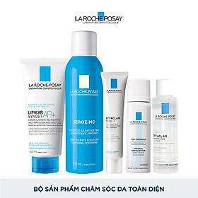 Bộ sản phẩm chăm sóc da toàn diện La Roche-Posay