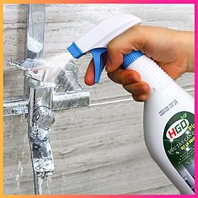 [XỊT LÀ SẠCH] Nước tẩy cặn canxi HGO PLUS trên vòi rửa inox, vách kính, bồn rửa sứ trong nhà tắm. Chai 500ml