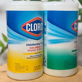 Hộp Khăn Giấy Ướt Clorox Diệt Khuẩn Khử Trùng Clorox Disinfecting Wipes Variety 85 Miếng