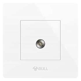 Ổ Cắm TV BULL G07T103C Trắng (Type 86)