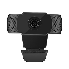 Webcam 1080P USB Web Camera PC Camera with Microphone for Online Teaching live Streaming Business Meeting Plug and Play