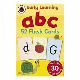 Early Learning Flashcards: Abc