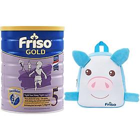 Sữa Bột Friso Gold 5 Cho Trẻ trên 4 tuổi 1.5kg + Tặng Balo heo con xinh xắn