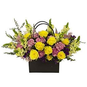 Giỏ hoa tươi - Giỏ Hoa Hỗn Hợp 4000