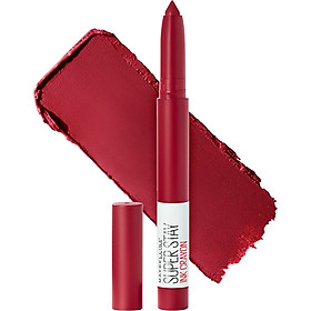 Son bút chì mịn lì 8h lâu trôi Maybelline New York Super Stay Ink Crayon Lipstick 1.2g