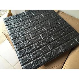 Bộ 5 Tấm Xốp Dán Tường Bóc Dán Tiện Dụng Sunzin Hoa Văn Giả Gỗ, Giả Gạch, Giả Đá Vân Gỗ. Kích cỡ 70x77cm