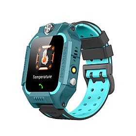 """Đồng hồ thông minh cho bé màn hình 1.44"""" chống nước cấp độ IP67 hỗ trợ đo nhiệt độ, gọi thoại 2 chiều, chia sẻ vị trí GPS, gửi thông báo cứu hộ SOS"""