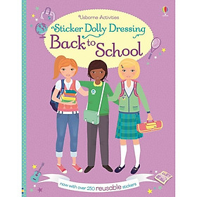 Usborne Sticker Dolly Dressing Back to School