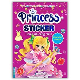 Princess Sticker - Dán Hình Công Chúa - Công Chúa Xinh Xắn