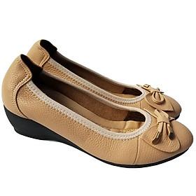 Giày Búp Bê Nữ Da Bò BIGGBEN Cao Cấp BB74