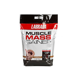 Sữa tăng cân, tăng cơ, tăng sức mạnh Muscle Mass Gainer của Labrada 12Lbs (5.44Kg)