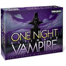 Ma Sói Phiên Bản One Night Ultimate Vampire Tiếng Anh