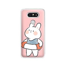 Ốp lưng dẻo cho điện thoại LG G5 - 01163 7903 RABBIT01 - Hàng Chính Hãng