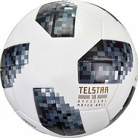 Bóng đá World Cup TELSTAR 2018 số 4 tặng kim bơm bóng + lưới đựng bóng ( Màu đen /trắng)