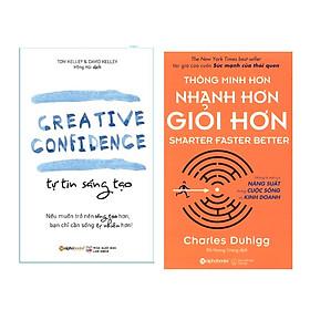 Combo Kỹ Năng Làm Việc: Tự Tin Sáng Tạo + Thông Minh Hơn, Nhanh Hơn, Giỏi Hơn