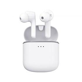 Tai nghe Bluetooth True Wireless Remax TWS-7 V5.0 kết nối từng tai riêng lẻ, âm thanh cực hay, pin dùng đến 4H, chống nước tiêu chuẩn IPX5 (Trắng) - Hàng Chính Hãng