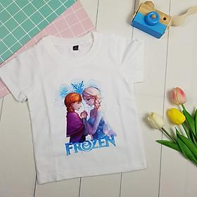 Áo thun Elsa cho bé gái