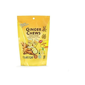 Prince of Peace Ginger Lemon Chews, 4.4oz (Pack of 2)