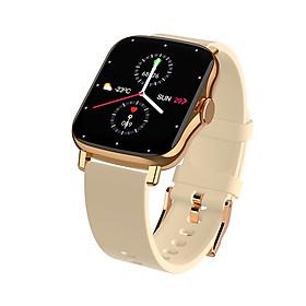Đồng hồ Nam Nữ Thông minh   Kết nối Bluetooth Theo dõi Sức khỏe Vận động Đo nhịp tim Đo huyết áp Luyện tập Thể thao Model AMA Watch FM8   Hàng nhập khẩu