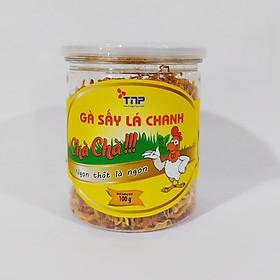 Gà sấy lá chanh Chà Chà - Thảo Nguyên Phát hũ 100g