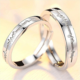 Nhẫn đôi nhẫn cặp nhẫn tình nhân đẹp giá rẻ