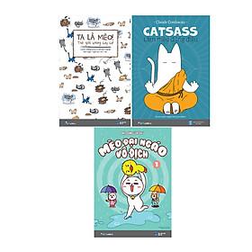 Bộ Sách Mèo (3 Cuốn) - Tặng Kèm Đồ Chơi Cho Đại Boss