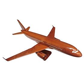 Mô hình máy bay gỗ Airbus A320 - Size Nhỏ