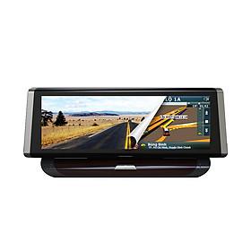 Camera Hành Trình Ô Tô Ghi Hình Trước Sau Tích Hợp Dẫn Đường GPS VIETMAP D19 + Thẻ Nhớ 16GB  - Hàng Chính Hãng