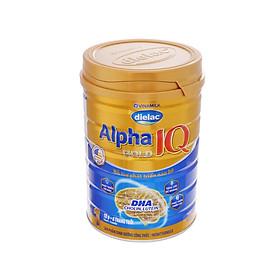 HỘP SỮA BỘT VINAMILK DIELAC ALPHA GOLD IQ 1 900G (CHO TRẺ TỪ 0 - 6 THÁNG TUỔI)