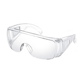 Goggles Lab Safety Protective Safety Glasses Clear Polycarbonate Visor Anti-Fog High Impact Resistance