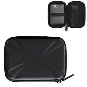 Hộp túi phụ kiện công nghệ BUBM chống sốc chuyên dụng đựng ổ cứng di động, pin sạc dự phòng, cáp sạc, tai nghe-Hàng chính hãng