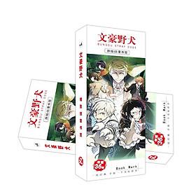 Hộp ảnh bookmark Bungou Stray Dogs Văn hào lưu lạc đánh dấu sách anime chibi mẫu ngẫu nhiên