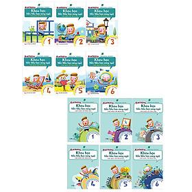 Trọn bộ 12 cuốn Khoa Học Tiền Tiểu Học Song Ngữ: Sách Học - Sách Luyện Tập