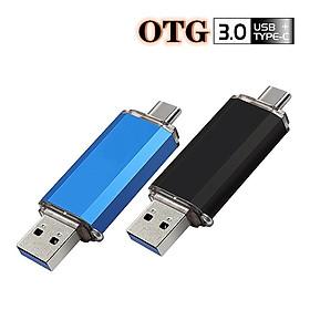 OTG Máy tính di động 2 trong 1 Type-C USB 3.0 Ổ đĩa flash OTG USB 256GB 512GB 1T Pen Drive U Disk