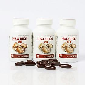 [COMBO 3 HỘP] Thực phẩm bảo vệ sức khỏe Hàu Biển OB - Tăng sinh chất lượng tinh trùng, Tăng cường sinh lý nam, trị xuất tinh sớm (Hộp 30 viên)