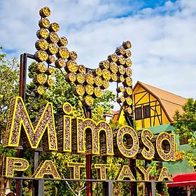 Vé Tham Quan Thành Phố Tình Yêu - Mimosa + Show Cabaret Ở Pattaya, Thái Lan