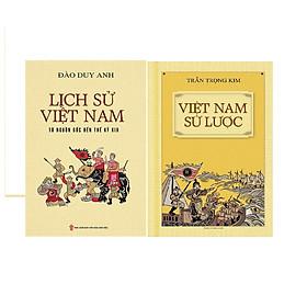 Combo  Việt Nam Sử Lược (Bìa Mềm) + Lịch Sử Việt Nam Từ Nguồn Gốc Đến Thế Kỷ XIX (Bìa Mềm)