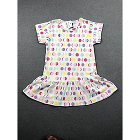 Combo 2 đầm bé gái thun cotton size từ 7-22kg
