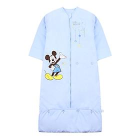 Disney Baby Baby Sleeping Bag Cotton Autumn and Winter Thicken Sleeveless Pocket Kids Anti-Knucking Was Growing Wool 110