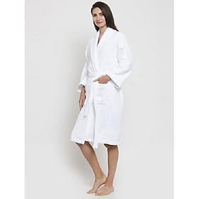 Áo choàng tắm Nam/ Nữ Kimono dệt sợi bông tự nhiên