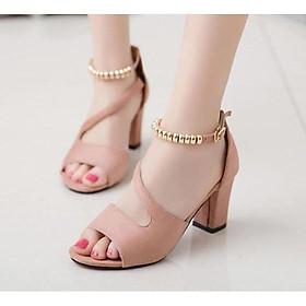 Giày cao gót nữ đẹp rẻ, giày gót vuông