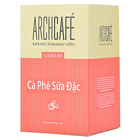 Cà Phê Sữa Đặc - Cafe hoà tan Archcafé