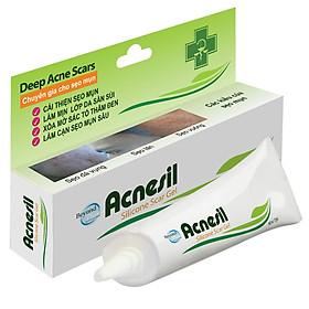 Acnesil Gel Silicone Cho Giải Pháp Hiệu Quả Cho Sẹo Mụn 10g