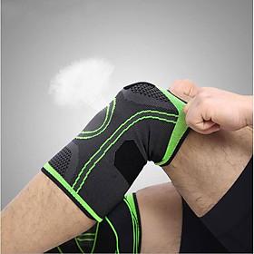 Băng đai bảo vệ giảm áp lực lên xương đầu gối khi tập Gym AK_24-1