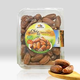 Chà Là Không Cành Tunisia Smile Nuts Hộp 500g - Dòng chà là Deglet Nour thịt mềm, dẻo, thoảng vị mật ong