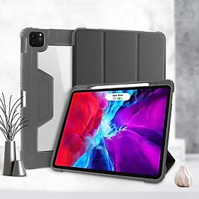 Bao Da Case Cover Ringke Air Dành Cho iPad Pro 11 inch (2020) / iPad Air 4 (10.9 inch) / iPad Pro 12.9 inch (2020) Có Khe Cắm Apple Pencil - Hàng Chính Hãng
