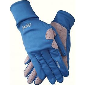 Găng tay Scooter nữ chống nắng UPF50+ zigzag GLV009