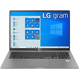 Laptop LG Gram 2021 17Z90P-G.AH76A5 (Core i7-1165G7/ 16GB LPDDR4X/ 512GB SSD NVMe/ 17 WQXGA IPS/ Win10) - Hàng Chính Hãng